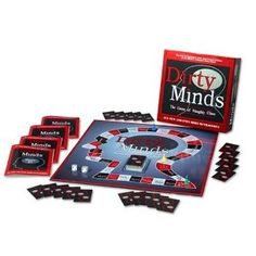 """Deluxe Dirty Minds  Another """"Fabulous Find""""!  A fun game and with the holidays coming...perfect for adult game night!"""