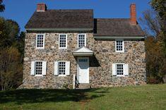The Benjamin Ring House (Washington's headquarters), Brandywine National Historic Site.