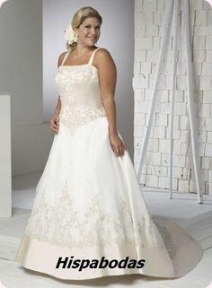 Vestidos de novia para mujeres XL