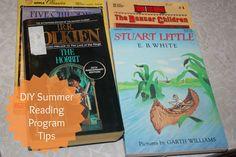 Frugal Staycation Idea: DIY Summer Reading Program ~ Lille Punkin'