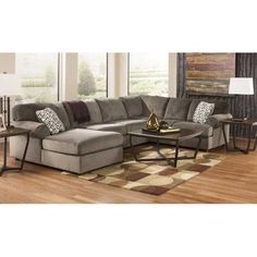 3PC Dune Sectional w/LAF Chaise EE2-398LC-3PC- for the new house