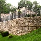 Exactly want I want for our retaining wall, made with Redi-Rock