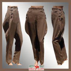 Vintage 40s Jodhpurs // Equestrian Riding Breeches Pants Saddle Built Riding Togs Fairway Sportswear 1940s Ladies Size M Medium