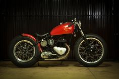 Triumph TRW500 1953 By Cafe Racer Obsession Hell Kustom