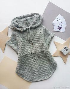 Crochet Girls Dress Pattern, Crochet Baby Poncho, Baby Girl Crochet, Crochet Baby Clothes, Crochet For Kids, Crochet Pattern, Easy Scarf Knitting Patterns, Girls Winter Fashion, Knit Fashion