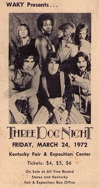 Still sound great in Tour Posters, Music Posters, Three Dog Night, Rock Band Posters, Vintage Concert Posters, Classic Rock Bands, Vintage Music, Vintage Rock, Rock Concert