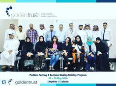 "Highly energetic group  #Repost @goldentrust with @repostapp.  #البحرين جولدن ترست تختتم الدورة التدريبية بعنوان ""حل المشكلات و إتخاذ القرارات"" والمنعقدة في الفترة مابين  29 - 30  مايو 2016م  GT successfully concluded the ""Problem Solving & Decision Making""  training program held between 29 - 30 May 2016 ... . . . Develop People .. Develop Organizations . .  #Bahrain#q8 #saudi  #KSA#oman#Doha#KUWAIT#QATAR#UAE#dawrat#training_in_qatar  #training_in_bahrain…"