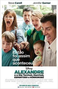 """""""Alexandre e o Dia Terrível, Horrível, Espantoso e Horroroso"""" estreia em 23 de outubro. Trailer: youtu.be/HDj2sLDsxek"""