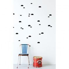 Sticker Nuage - Noir  Ferm Living
