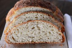Crusty Artisan No-Knead Bread {Made Even Easier + Step-by-Step Tutorial}