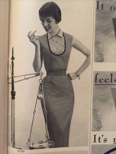 Dolores Hawkins Phelps in Butterick Patterns Magazine 1954 1950s Fashion, Bodycon Dress, Ads, Magazine, Couture, Patterns, Model, Vintage, Dresses