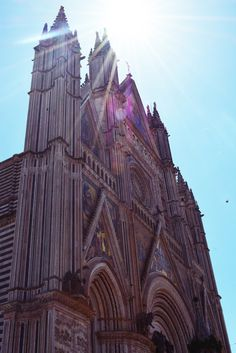 I took this photo during my study abroad trip in Italy while visiting the medieval to of Orvieto. In Orvieto, you walk up a steep road which