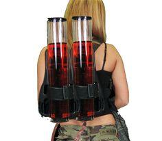 double heads quality wine gun sub wine cocktail shaker beer tower beer bucket beer machine beerbarrel