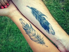 dove feather tattoos