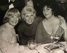 June Allyson  Janet Leigh  Elizabeth Taylor/...partial reunion of the actresses of Little Women. Margaret O'Brien is missing.