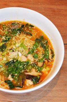 Spicy Tan Tan Ramen Recipe – Saffron + Kumquats