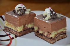 Hungarian Recipes, Russian Recipes, Czech Recipes, Cake Bars, Homemade Cakes, Sweet Desserts, Graham Crackers, Sweet Tooth, Cheesecake