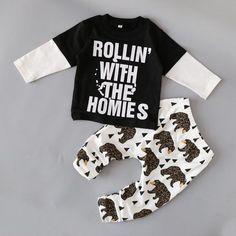 Fashion toddler baby clothing