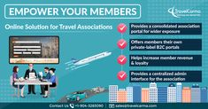 TravelCarma helps Travel Trade Associations empower their members with digital tools that revolutionize the way they do business and help them generate more revenue. Software Products, Trade Association, Online Travel, Tour Operator, United Arab Emirates, Business Names, Albania, Travel Agency, Trinidad