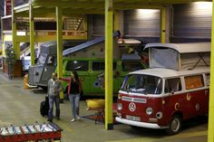 IN BEELD. Duitse Bonn opent hostel met vintage caravans - De Standaard