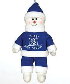"Duke Blue Devils 10"" Snowflake Friends"