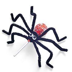 Spider Pops Halloween Treat