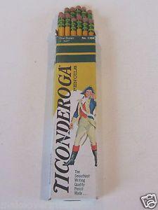 VTG Box of Unused Vintage Dixon Ticonderoga Pencils No 2 Soft No. 1388 + extra   eBay