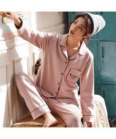 b6fa668d20 Pure cotton pajamas fresh and lovely cotton pyjamas set Cotton Sleepwear