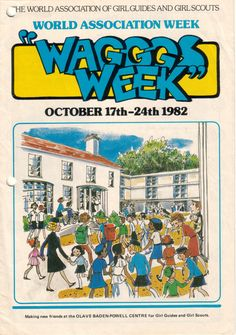 I♥the artwork WAGGGS  Week booklet 1982