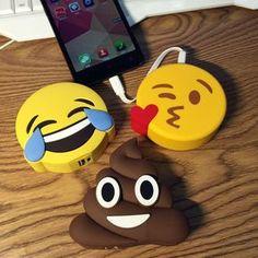 R  65.13  Original Funny Emoji Smiley Unicórnio Diabo Excrementos Power  Bank 2600 mAh Bateria Externa Powerbank Carregador Portátil Para Celular em  Banco Do ... 091484d500