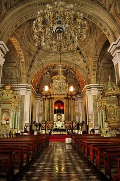 San Agustin Church, Manila, Philippines.