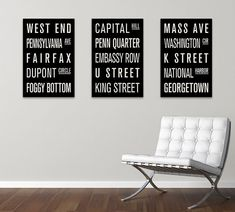 Hey, I found this really awesome Etsy listing at https://www.etsy.com/listing/97416224/washington-dc-collection-of-3-subway