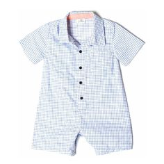 Checked Romper - Tuckernuck