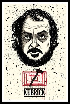 Stanley Kubrick - Best Cinema Directors on Behance Famous Movie Directors, Cinema Movies, Film Movie, Cinema Posters, Film Posters, Arte Pop, Quentin Tarantino, Horror Art, Horror Movies