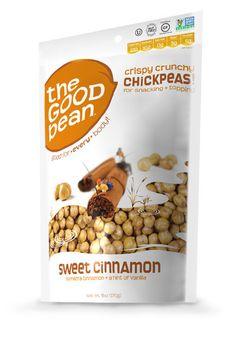 Sweet Cinnamon Roasted Chickpeas 6oz 6pk
