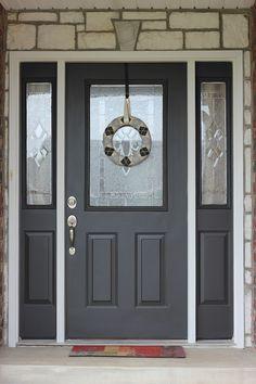 Painting your front door DIY tutorial