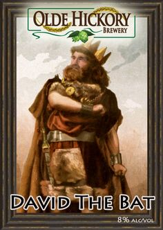 David the Bat - a limited release Scottish Ale by Olde Hickory! Winner of the 2013 Olde Hickory Pro Am and on tap (while it lasts...)