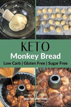 Tiramisu Dessert, Low Carb Desserts, Low Carb Recipes, Dessert Recipes, Ketogenic Recipes, Dinner Recipes, Monkey Bread, Low Carb Breakfast, Breakfast Dessert