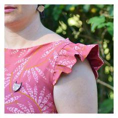 Atelier Charlotte Auzou - Patrons de robes personnalisables Charlotte, Ruffle Blouse, Tops, Women, Fashion, Unique Dresses, Patron Robe, Paper Pieced Patterns, Atelier