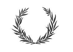 php píxeles – Laurel Wreath İdeas. Laurel Tattoo, Laurel Wreath Tattoo, Black Tattoos, Body Art Tattoos, Victory Tattoo, Olive Branch Tattoo, Tattoo Filler, Simple Tats, Tattoo Fonts