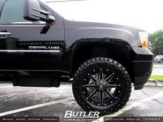 GMC Denali with Fuel Maverick Wheels New Trucks, Lifted Trucks, Cool Trucks, Chevy Trucks, Jeep Wheels, Truck Wheels, Chevy Pickups, Chevy Silverado, Gmc Denali Truck