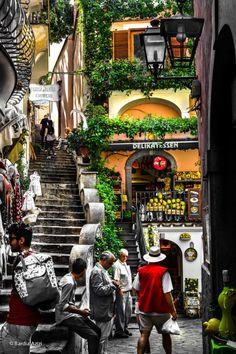 Positiano, Italy by Bardia Azizi