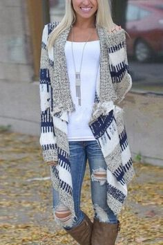 Fashion Layered Cardigan