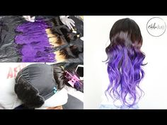 HOW I MADE THIS WIG (Colour, Construction & Styling) | ELFIN HAIR Brazilian Virgin Body Wave Hair - YouTube