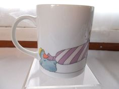W. Steinbeck Blue Bird Party Coffee Cup Mug Japan Toscany Collection #Steinbeck