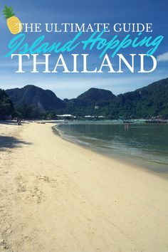 Want to know the best way to get rid of the winter blues? Escape to the beaches of Thailand and indulge in a bit of island hopping. Soak up the vitamin D, feel the sand between your toes and enjoy the exotic surroundings.