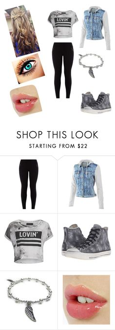 """""""#Wanted2"""" by ethan-s-queen on Polyvore featuring New Look, Mur Mur, Religion Clothing, Converse and Jacy & Jools"""