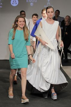 Diseñadra Amelia Bianchi - Desfile DNA Fashion Show 2015