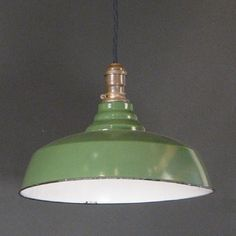 Vintage Lighting. Source: Remodelista. Would love a house full of collected lamps, vintage and industrial.