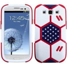 MYBAT FIFA World Cup 2014 Hybrid Case for Galaxy S3 III - Team USA(H)